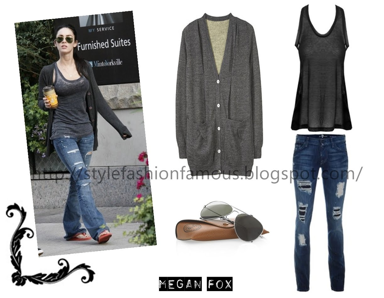 the gallery for gt megan fox casual style