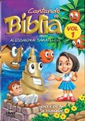 DVD Cantando a Bíblia com Alessandra Samadello Vol. 1
