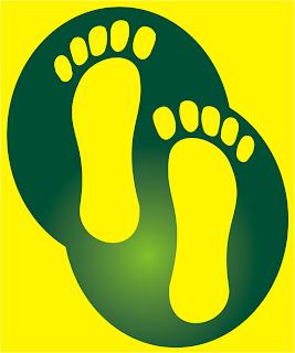 simple footmark