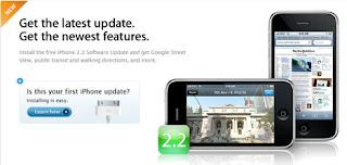 iPod Touch 2.2 update