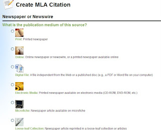 mla citation genrator