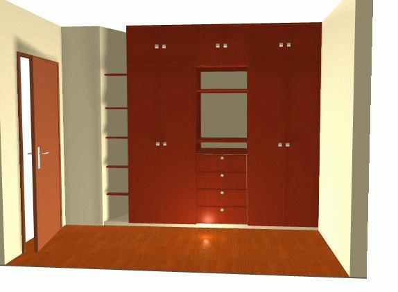Proyectos ayasta for Modelos closets para dormitorios