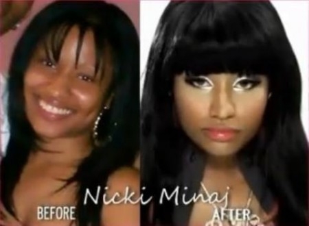 nicki minaj without makeup