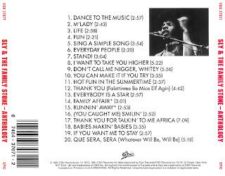 Sly & The Family Stone - Anthology 1981
