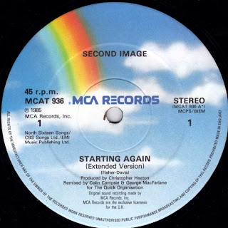 Second Image - Starting Again 1985 12 Inch