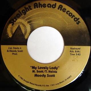 Moody Scott - My Lovely Lady  1983