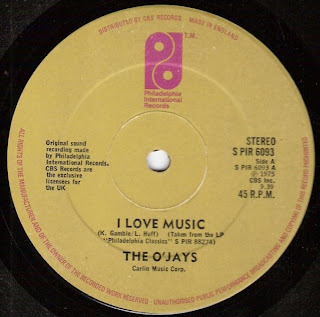 The Ojays - I Love Music 1978 12 Inch