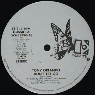 Tony Orlando - Don't let go 1978 12 Inch