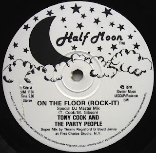 Tony Cook & The Party People - On The Floor (Rock-It) 1984 12 Inch