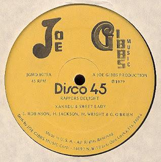 Xanadu & Sweet Lady - Rapper's Delight 1979  12 Inch