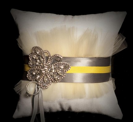 Diy ring bearer pillow fathers day projects for Diy ring bearer