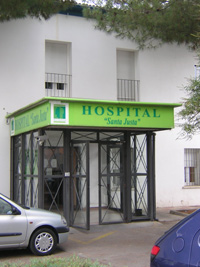 FOTOS DE HOSPITALES VISITADOS EN LOS CUALES HE RECIBIDO ALGÚN TIPO DE DIAGNÓSTICO Y TRATAMIENTO