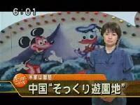中國盜版迪士尼遊樂園