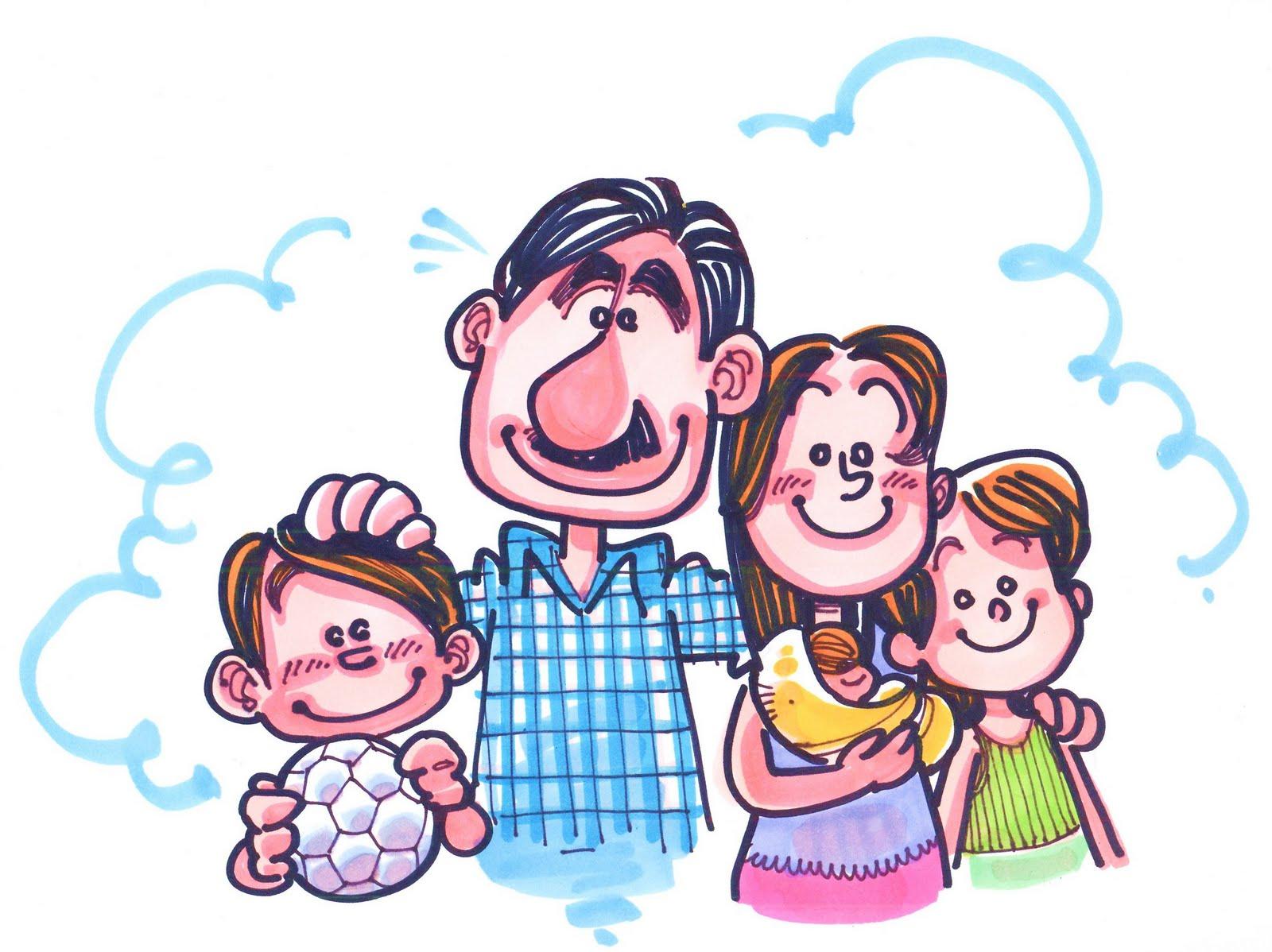 Familia De 4 Personas Dibujos  Bioinformatics RD
