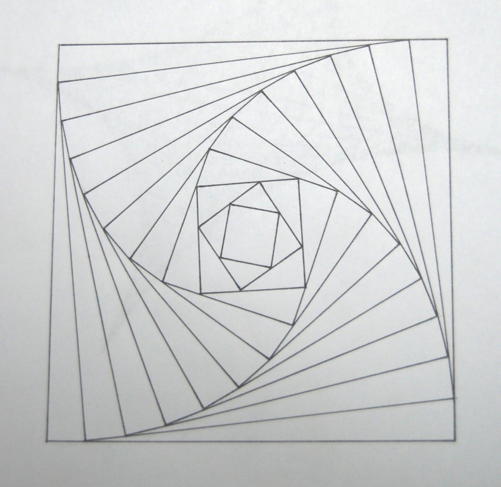 Geometric Wolf Drawing Let the meandering beginGeometric Bear Drawing