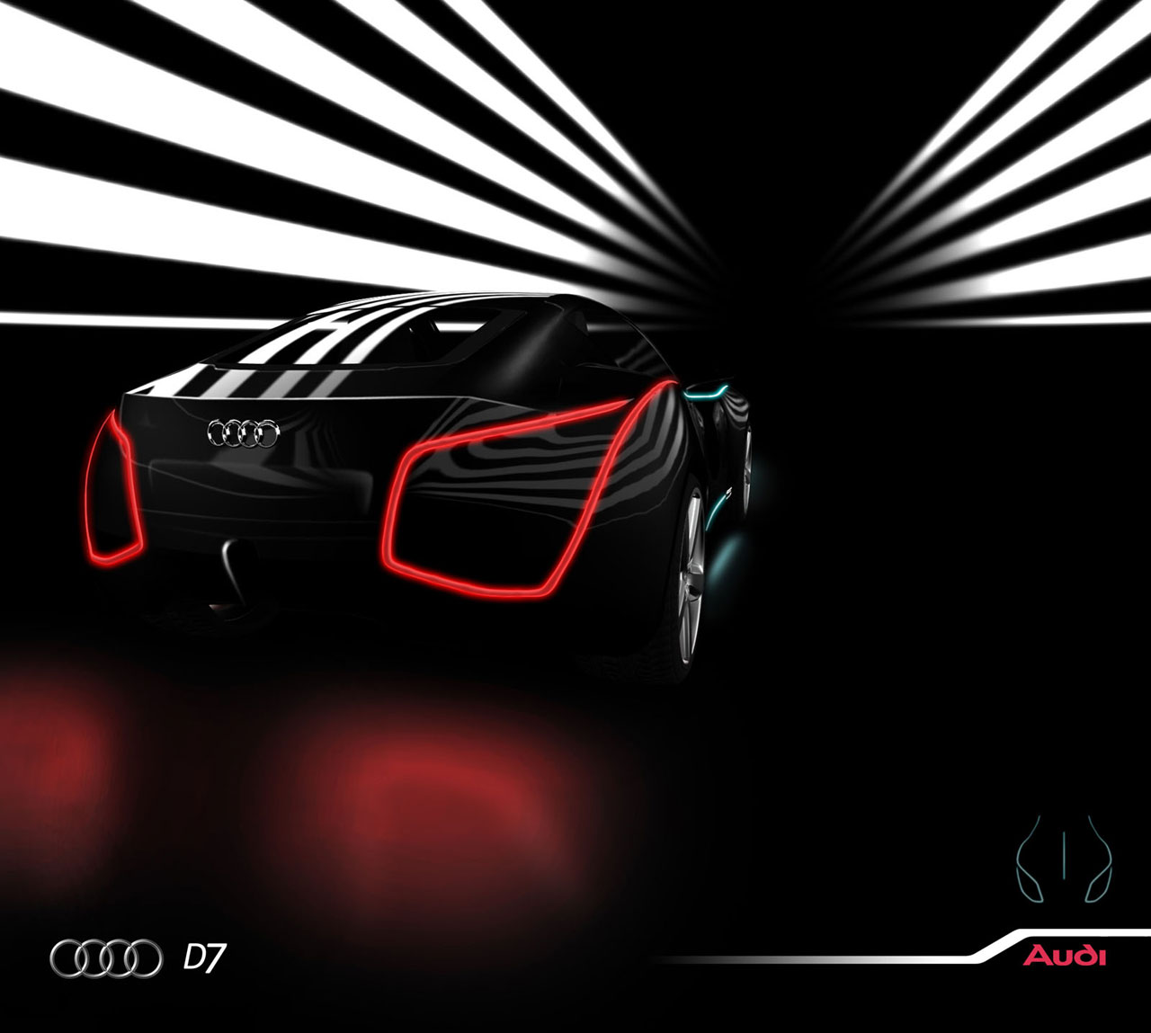 Audi D7 Concept. Source. Posted by Daniel Proctor at 12:42