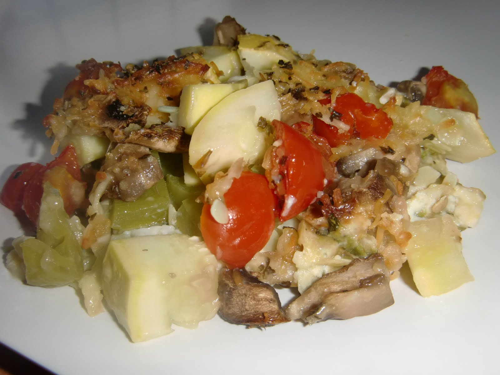 My Favorites: Vegetable Pie with Zucchini Crust