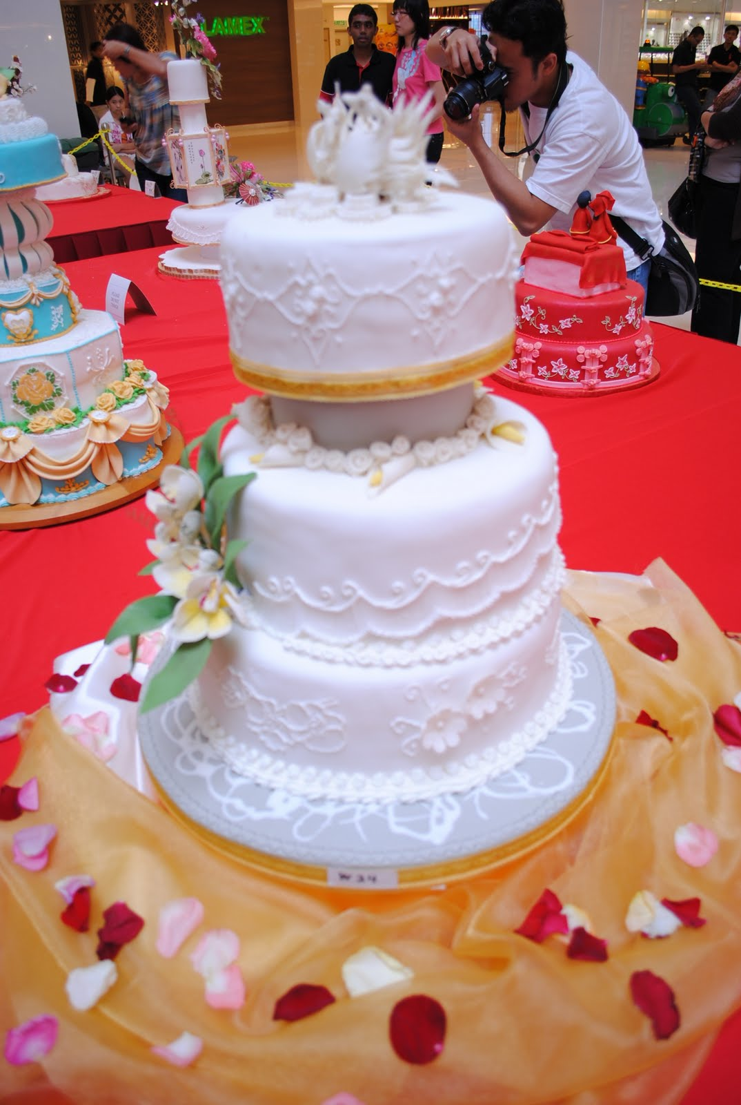 Cake Decorating Class Kota Damansara : 3N Cakes : 1st. Annual Wedding Cakes Competition @ Sunway Giza