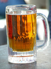 a frosty brew