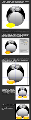 R00t W00t Create A Chibi Tux Penguin With Inkscape