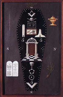 Image result for masonic casket