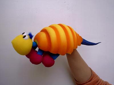 Titeres marionetas did cticas material espuma de goma - Como hacer marionetas de mano ...