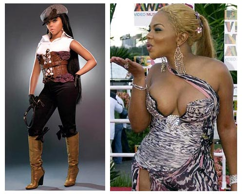 Lil Kim Before And After Kimberly Denise Jones, better known by her stage