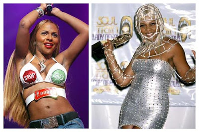 Lil Kim Plastic Surgery Pictures