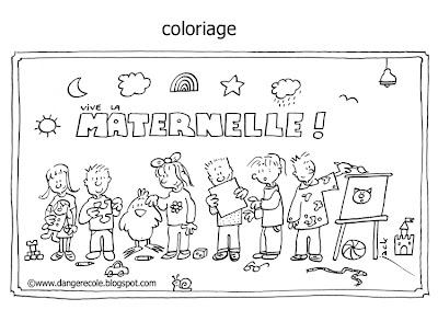 Danger cole janvier 2009 - Coloriage classe maternelle ...