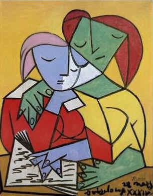 Meninas a Ler, Picasso