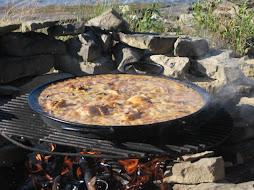 Paella on the rocks....