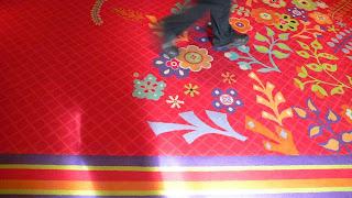 Carpet at the Wynn casino, Las Vegas