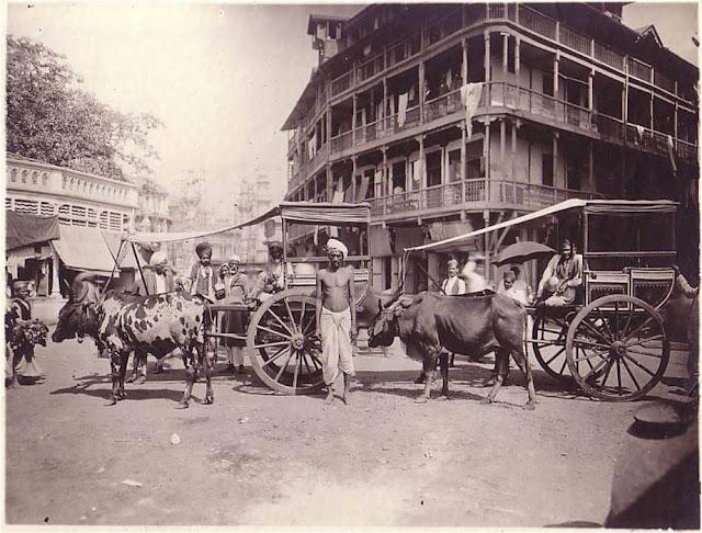 Bullock Card - Bombay Street - Mumbai