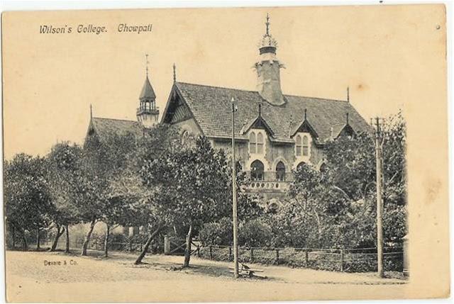 Wilson College Bombay aka Chowpati