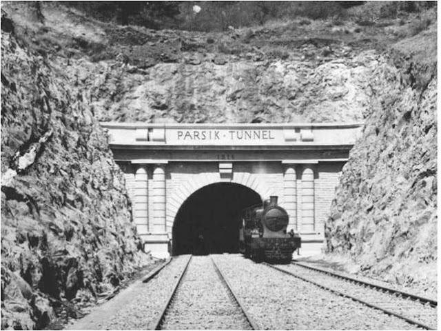 Parsik Tunnel - Bombay aka Mumbai