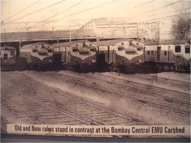 Bombay Central EMU Car Shed