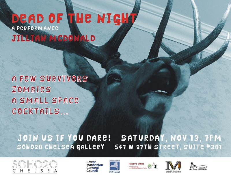 dead of the night evite, jillian mcdonald