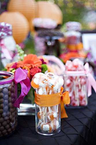 Wedding Inspiration Candy Bars