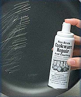 Nonstick Cookware Repair Spray http://youmayalsolike.blogspot.com/2007_07_01_archive.html