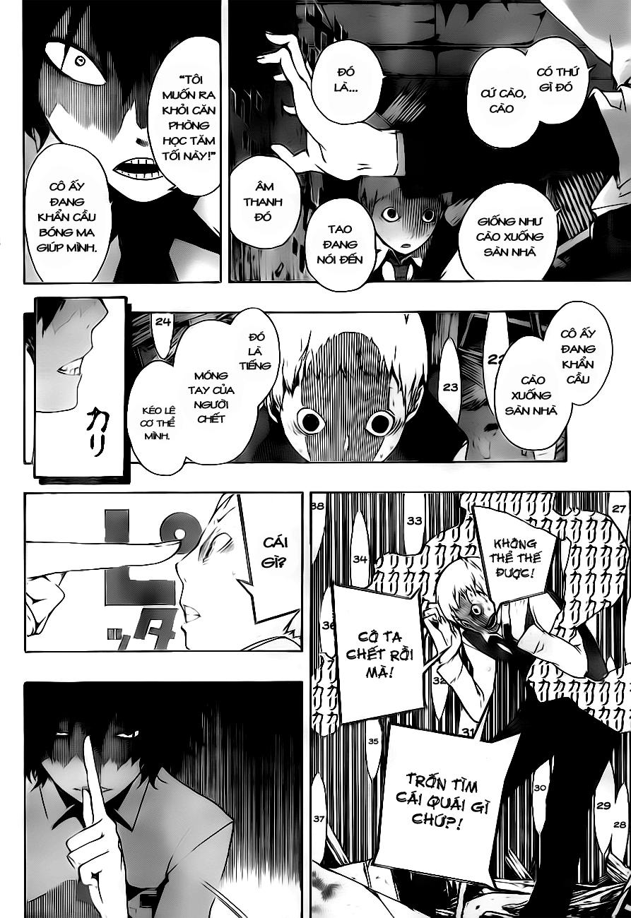 Kiben Gakuha, Yotsuya Senpai no Kaidan chap 3 Trang 8 - Mangak.info