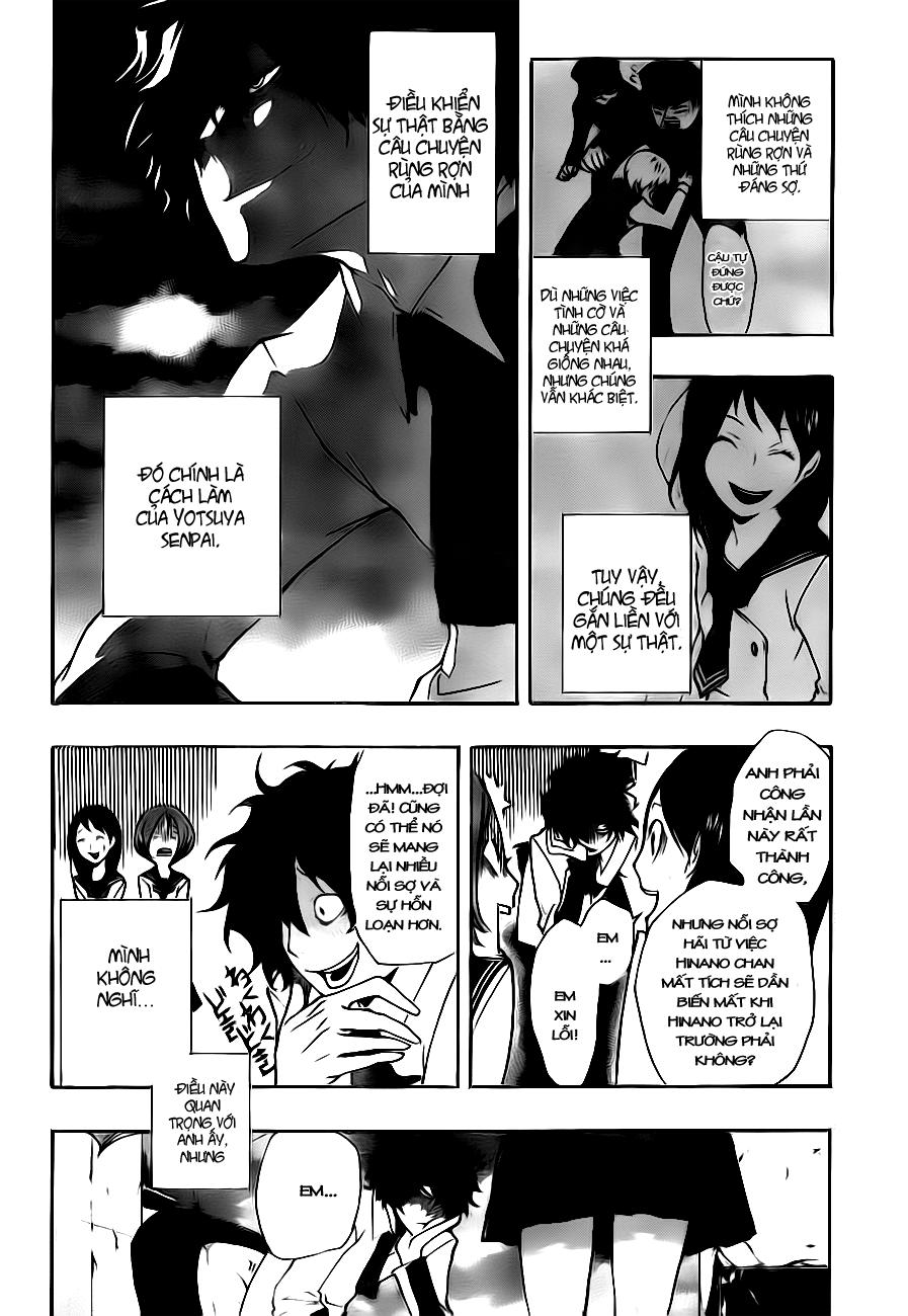 Kiben Gakuha, Yotsuya Senpai no Kaidan chap 3 Trang 21 - Mangak.info