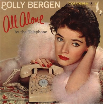 Cover Album of POLLY BERGEN - ALL ALONE BY THE TELEPHONE (1959)