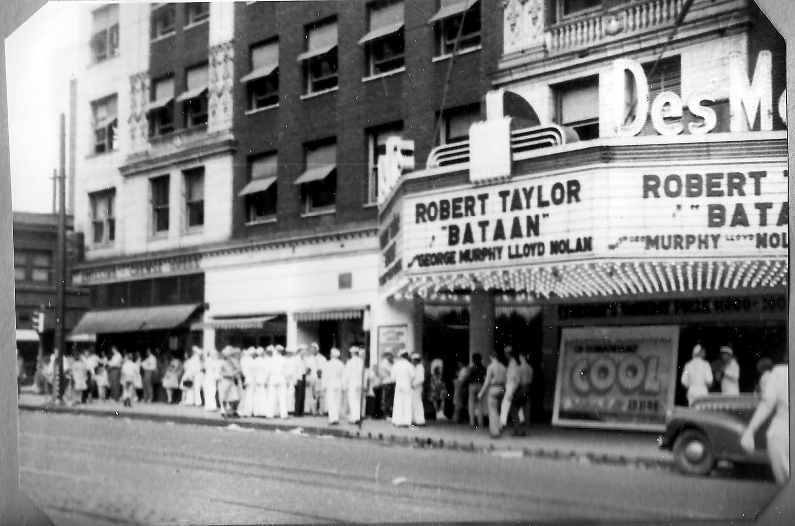 lost cinemas of greater des moines the des moines 1943