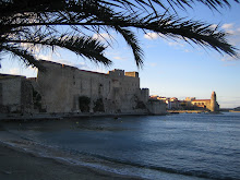 Collioure harbor in late September
