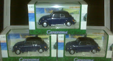 CARARAMA VW BEETLE BLUE(1:43)