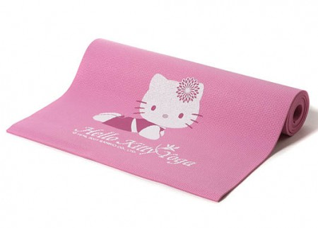 Custom Kitty Yoga Mat