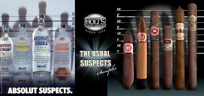 También en publicidad,de vodka o puros habanos