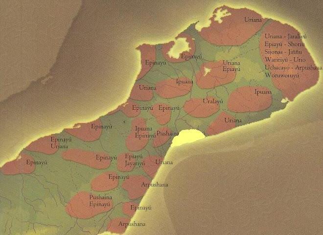 PLANO CARTOGRAFICO DE IPAPÜLE Territorio Clan Juusayuu