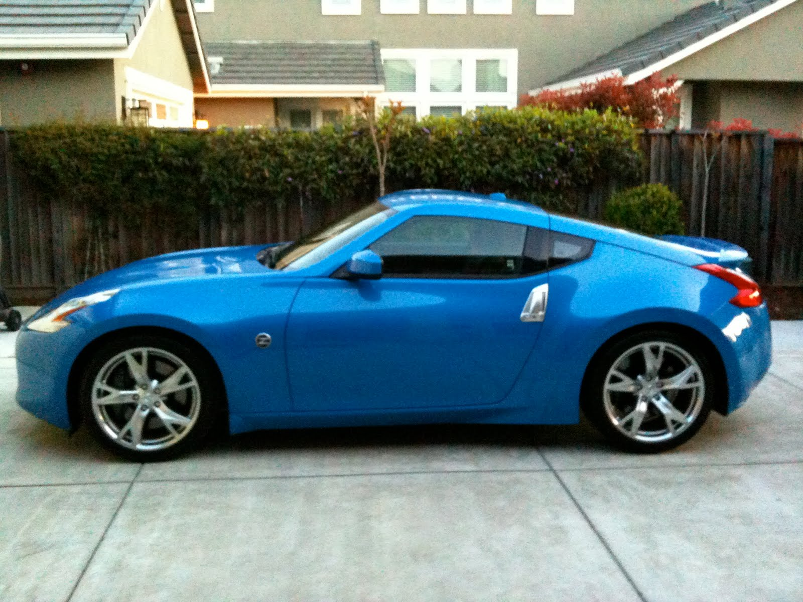 It's the best blue sports car