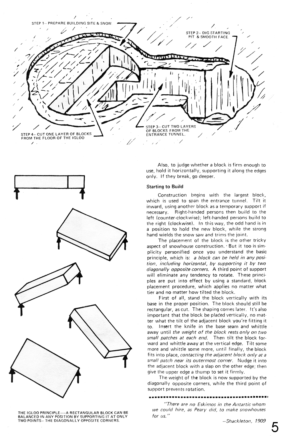 northwest explorer how to make an inuit snow house